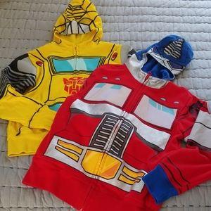Transformers Bumblebee/Optimus Prime Sweatshirts